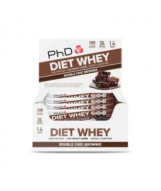 DIET WHEY BAR 12X64G DOUBLE CHOCO