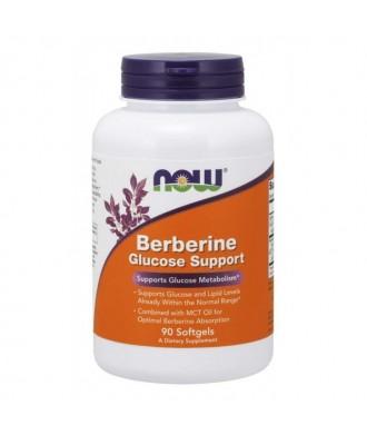 NOW Berberine Glucose Support 90softgel