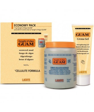 Guam Kit FIR Convenienza Fango 1kg + Crema Gel