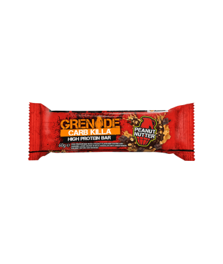 Carb Killa Protein Bar 60g-Peanut Nutter