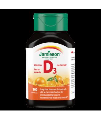 Vitamina D masticabile 100cpr Arancia