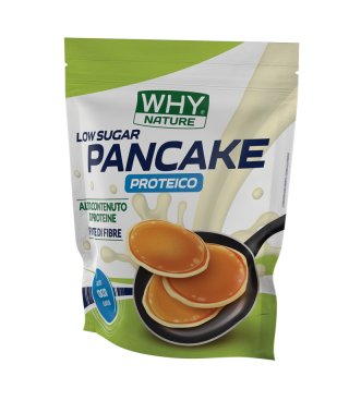 Why Nature- Pancake Proteico 1Kg Cocco