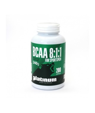 BCAA 8:1:1 200cpr