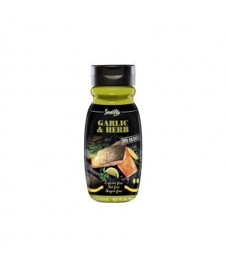 Salsa Garlic & Herbs 320 ml