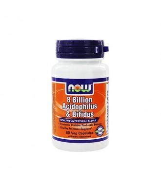 8 Billion Acidophilus & Bifidus 60 VEG CAPS