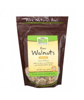 Now RAW Walnuts 340g Qualità superiore
