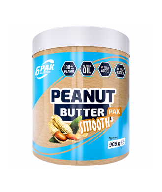 Peanut Butter SMOOTH 908g 6 Pak Nutrition