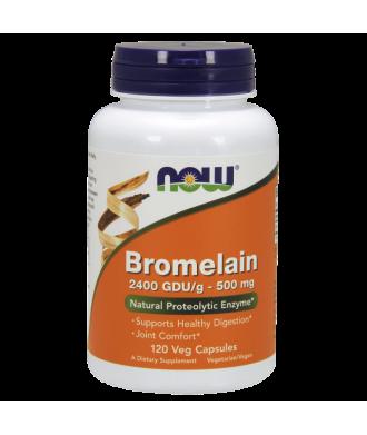 Bromelain 2400 GDU/g 120 veg Cps